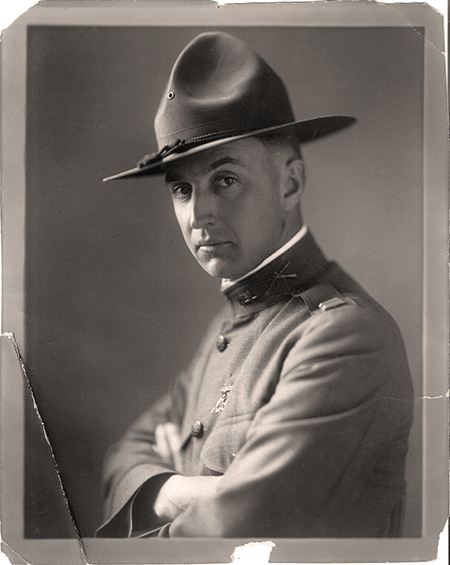 W.F. Hemenway in WW1 Uniform